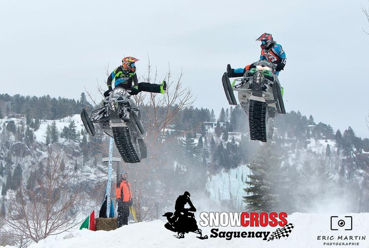 The 2018 Snowcross Saguenay, the place to be for motorsports enthusiasts