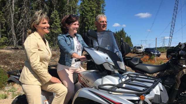 Inauguration of an ATV trail between Quebec City and Saguenay