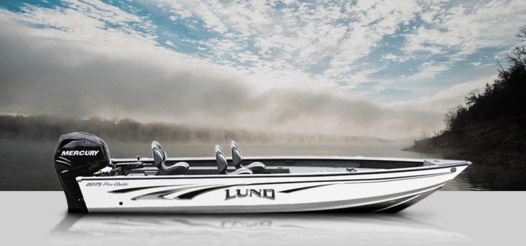 Lund 2075 Pro Guide Tiller