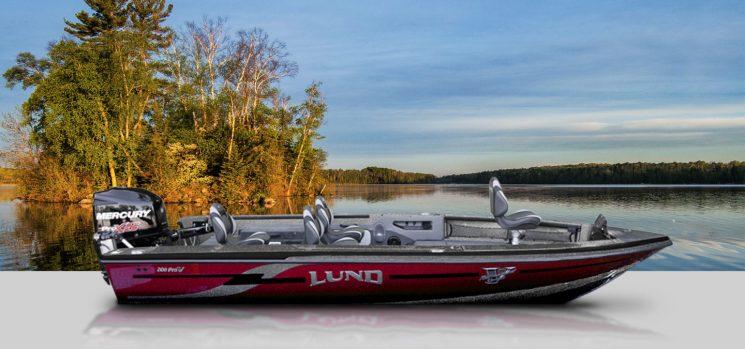 Lund 208 Pro-V GL Tiller
