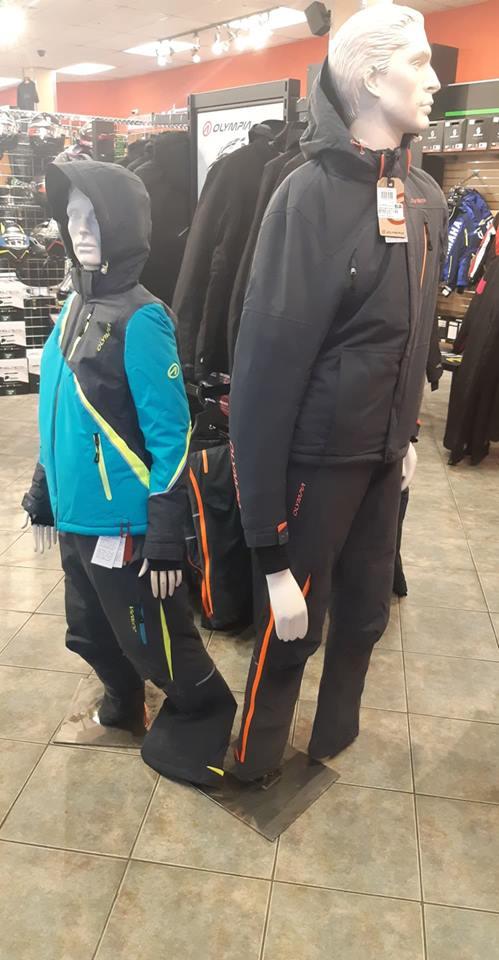 Nouvelle Gamme de Vêtements D'hiver
